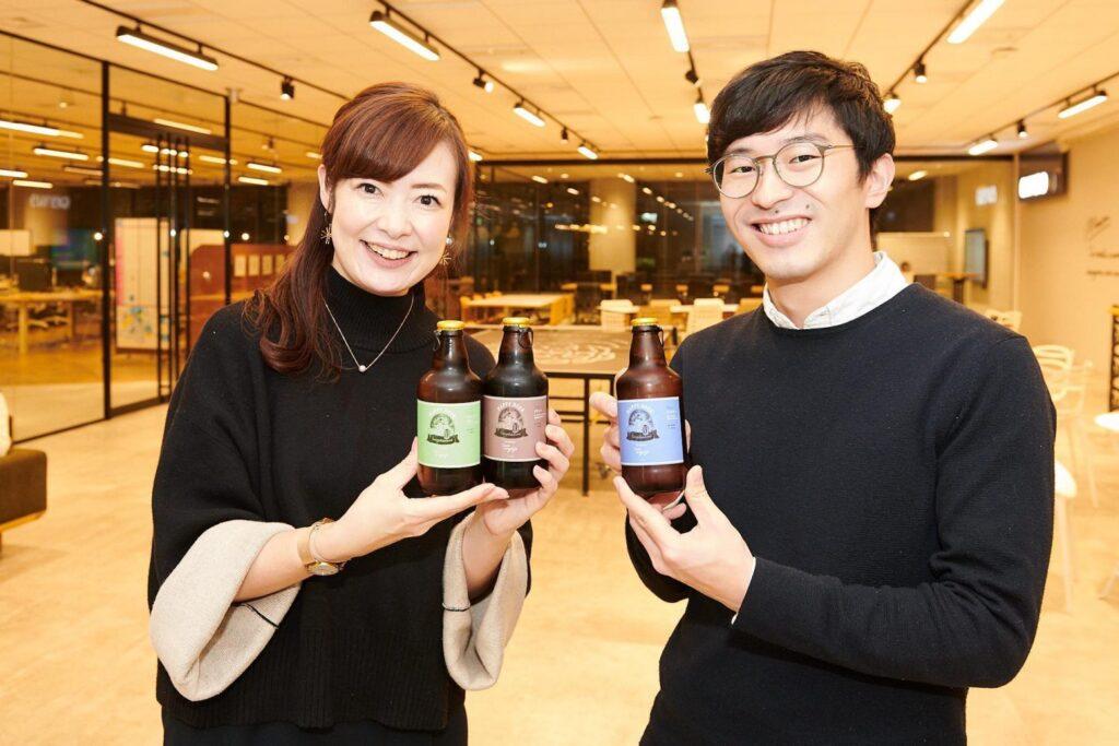 株式会社エウレカのオリジナルビール