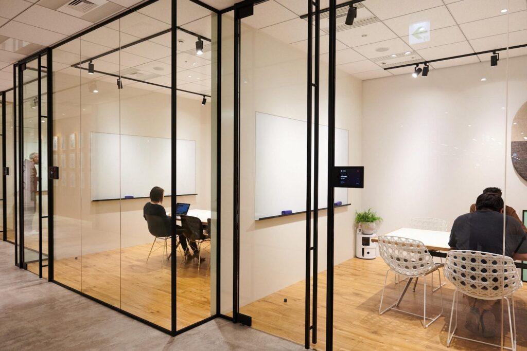 株式会社エウレカの会議室