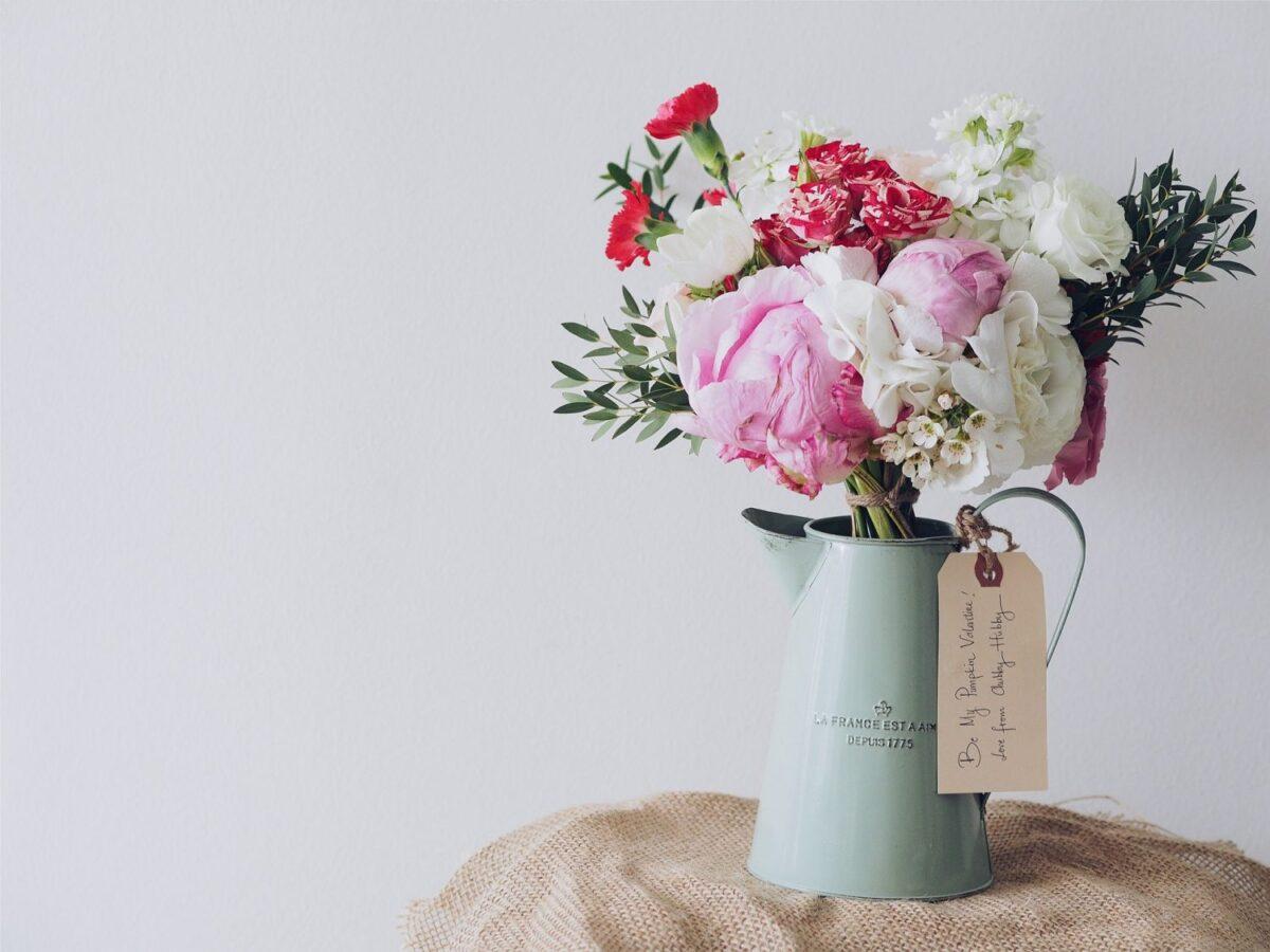 オフィス 受付 花