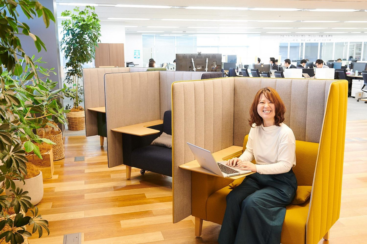 クリティックミッションジャパンのオフィス