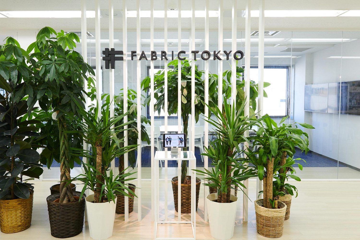 FABRICTOKYOのオフィス