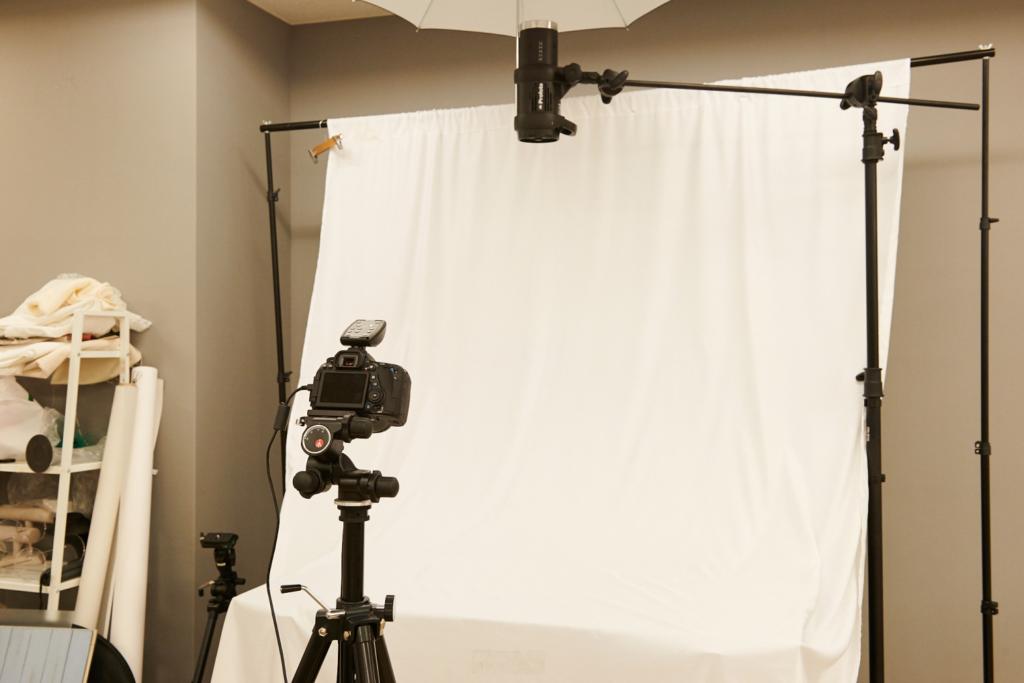 株式会社Graciaの撮影スペース