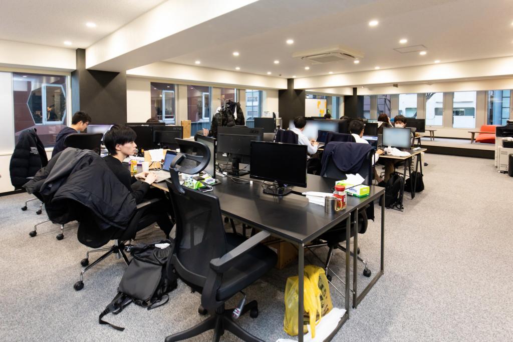 株式会社ライボのオフィス