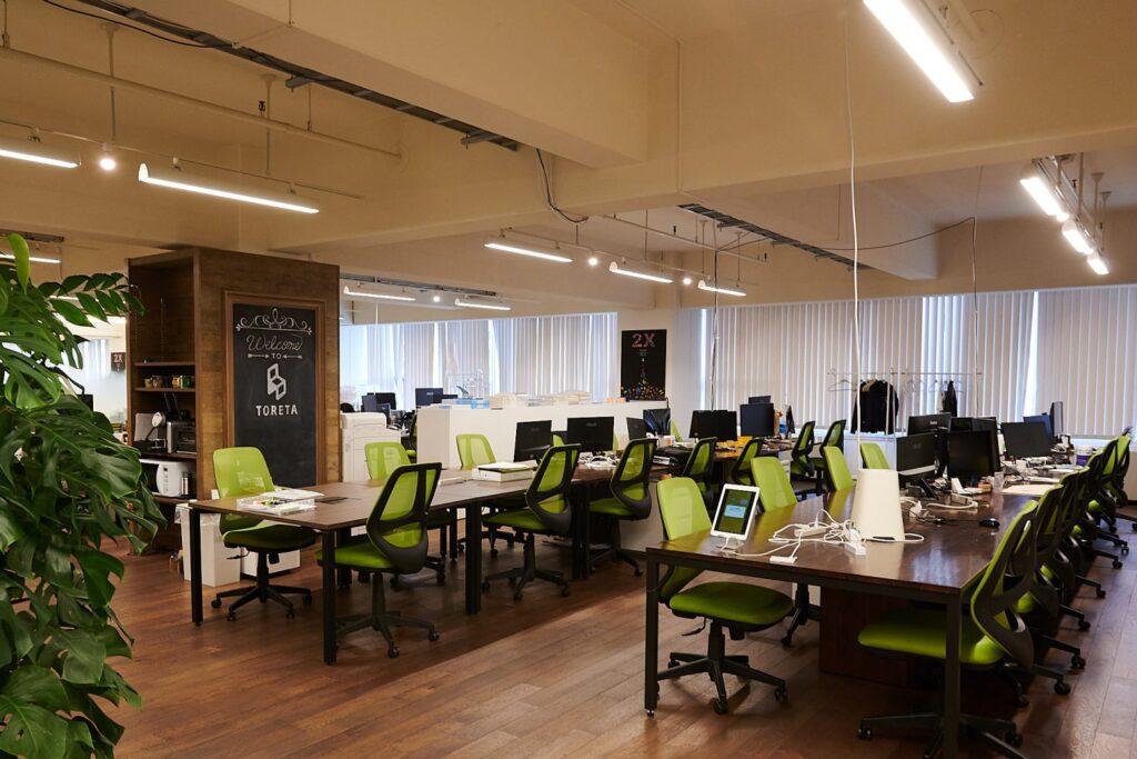 株式会社トレタのオフィス